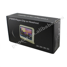 "2014 9"" headrest 16:9 Display electronics for car"