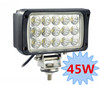 6 inch 45W 12V LED Work Light FLOOD Lamp Tractor Truck SUV UTV ATV Offroad