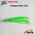 Atacado de apetrechos de pesca de água salgada pesca do polvo atrações jsm02-5050