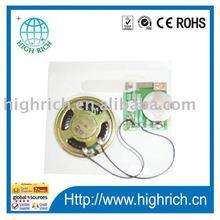 greeting card sound chip