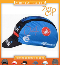 Designer Printed Custom sublimation cycling caps /cycling hats