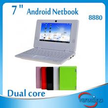 mini laptop computers best buy 7 inch small size laptop VIA 8880 Dual-Core 1.5GHZ low price mini laptop computers RW-L01-10