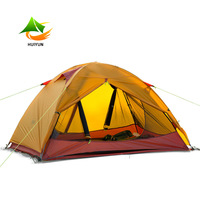 Double Layer Ultralight Camping Tent Four Season Tent For 2 Person