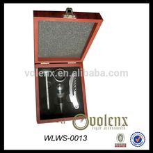 luxury wine opener stopper set / stainless steel cookware set