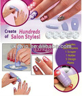 Salon Express Nail Art Stamping Art Set TV Hot Sales Fashion