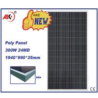 poly 12v 300w solar panel