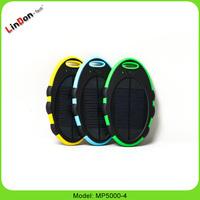 Solar charger Mini power bank 5000mAh Solar power pack