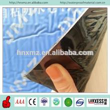 Blue surface self adhesive waterproofing membrane roofing asphalt tar