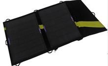 13W 18V&5V folding solar cell phone charger