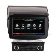 Touch screen car dvd player car dvd vcd cd mp3 mp4 player for Mitsubishi L200/Triton/Pajero/Sport car gps dvd player