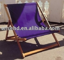 ( W-L-W3 ) Wooden Folding Double Deck Chair