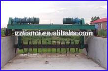 Fule manual operation Compost Turner Machine for Organic Fertilizer Production Line