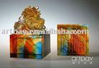 Crystal Dragon Stamp