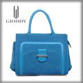 Diseño moda buen precio colores para selección, cuero genuino bolsos venta al por mayor