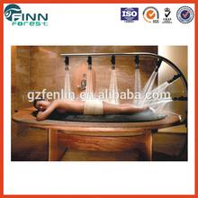 Équipement de beauté en bois lit de douche d'hydrothérapie spa équipement