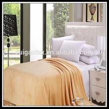 custom flannel fleece blanket bedspreads shaoxing