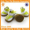 Jml 2014 de cuero de la pu perro zapatos con suela de goma para la primavera, verano y otoño