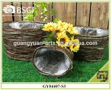 2015 main willow handmade decorative basket