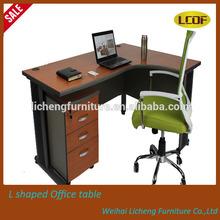 Licheng Hot Sale modern fashion style Melamine office desk/table