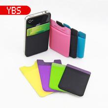 3M Sticky Wallet microfiber Smart Wallet,wallet for Mobile Phone microfiber Card Holder