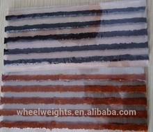 Tire repair seal 200mm*6mm Brown&Black