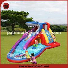 Hot Sale Shark Residential Inflatable Slide