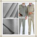 o melhor de sarja de algodão tingido tecido de poliéster para a roupa de trabalho
