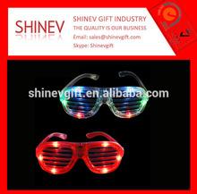 Party decoration high quality led flashing sunglasses