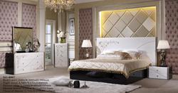 2014 new arrival elegant MDF king size bedroom furniture