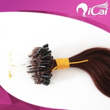 Hot selling 5A grade Wholesale Price ombre micro loop ring hair extension