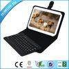 Bluetooth keyboard for samsung galaxy note 10.1 with PU case,bluetooth keyboard case MOQ100 for OEM