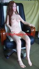 Caliente más nuevo 2014 real de silicona muñeca del sexo para el hombre, estados unidos muñeca del sexo con grandes pechos suave la venta barato en línea masculina de manos libres masturbador
