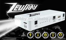 ZEUSRAY 12000mAh multi-function jump starter Emergency jump start car kit