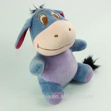 newest cute blue Eeyore plush toys