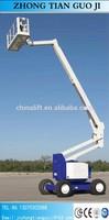 Crank arm lift for sale/4 wheels boom lift