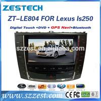 ZESTECH brand new oem gps for Lexus Is250 car autoradio gps navigation