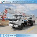 Pequeno guindaste móvel telescópica, guindaste do caminhão made in china