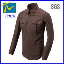 2014 latest men quick dry man shirt hiking bivouac apparel sports shirt for man