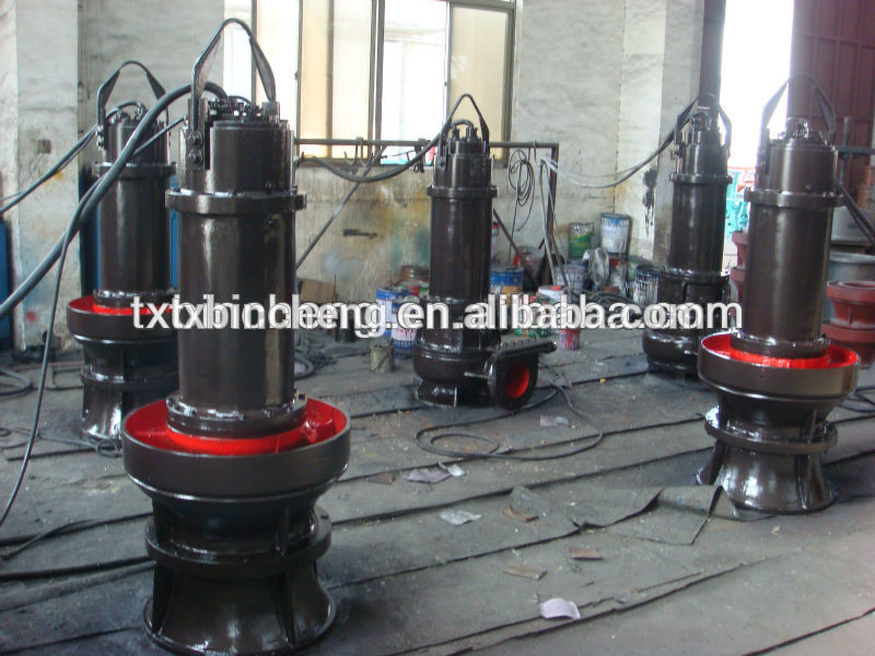 axial flow centrifugal submersible pump