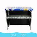 Zhejiang yongkang venda quente mesa de bar barra de ferro 44'' mesa dobrável mesa de bar
