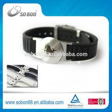 Germanium titanium sports bio energy bracelet