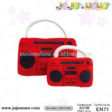 Plush Radio pet toy dog toy 2015 new desigh