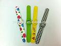 cool design de bala cor simples de silicone personalizadas tapa relógio para crianças