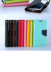 2014 New amazing wallet flip leather case for iphone 3gs factory price