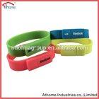 Usb Silicone Wristband,usb flash drive