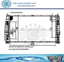 Auto Radiator For Chrysler 300M 99-04/LHS/Intrepid 00-01 OEM:5010359/AA/AB