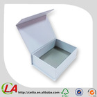 White Blank Box With Magnetic Catch Closure
