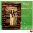 Promotional wood crafts decorative wall mount digital photo frame