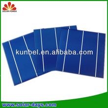High Efficiency 156 Polycrystalline Taiwan Brand Thin Film Solar Cells Wholesale