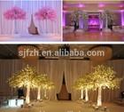 2014 wedding decoration centerpieces,wedding high table decor decorations, artificial cherry blossom tree wedding decor